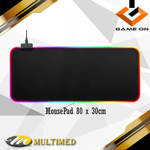 Harga mouse pad alas mouse gaming led rgb panjang 80 x | HARGALOKA.COM