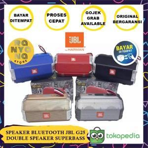 Harga termurah speaker bluetooth jbl hdy g25 double speaker suara   HARGALOKA.COM