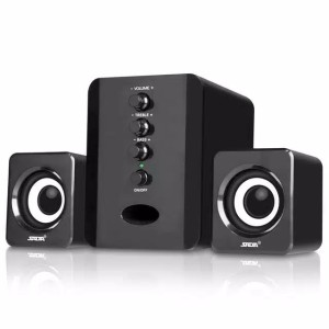 Harga sada d 202 speaker stereo 2 1 with subwoofer amp usb power | HARGALOKA.COM
