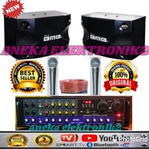 Harga paket karoke rumahan speaker bmb 8 34 original usb bluetoth smart | HARGALOKA.COM