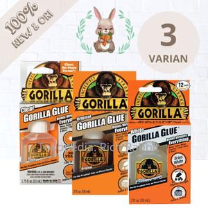 Harga gorilla glue original waterproof 59 ml lem kayu keramik kaca besi   putih | HARGALOKA.COM