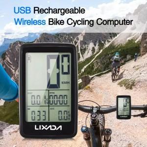 Harga lixada spedometer sepeda rechargeable | HARGALOKA.COM