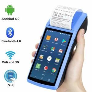 Harga mesin kasir android pos vsc thermal printer 58mm 4g with nfc   | HARGALOKA.COM