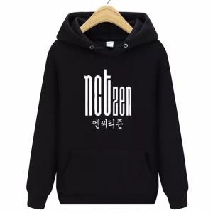 Harga hoodie jumper nctzen size s xxl unisex hoodie kpop fans nct dream   hitam | HARGALOKA.COM