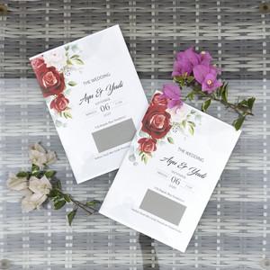 Harga undangan pernikahan cantik dan murah   800   1000 | HARGALOKA.COM