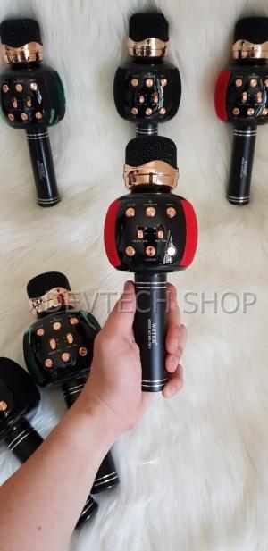 Harga original wster ws 2911 karaoke ktv mic portable bluetooth speaker   | HARGALOKA.COM