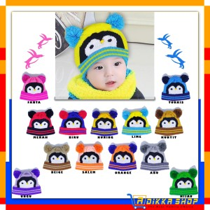 Harga topi kupluk pompom karakter kupluk bayi lucu kupluk anak imut   | HARGALOKA.COM