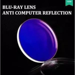 Harga promo lensa kacamata minus blueray anti radisi kaca   HARGALOKA.COM