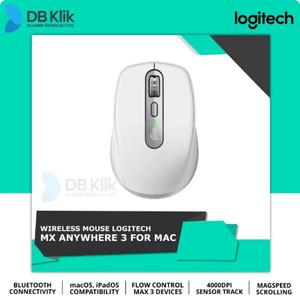 Harga mouse logitech mx anywhere 3 wireless bluetooth 4000 dpi for | HARGALOKA.COM