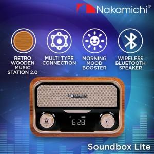 Harga nakamichi soundbox lite speaker portable audio wireless   HARGALOKA.COM