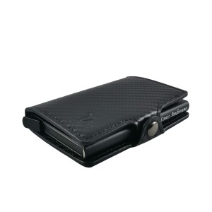 Harga la 324 louis andreano rfid pop up card case dompet kartu carbon   | HARGALOKA.COM