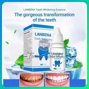 Harga original lanbena pemutih gigi penghilang noda dan karang | HARGALOKA.COM