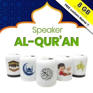 Harga speaker quran 30 juz lampu led warna chip memory murottal al quran   random | HARGALOKA.COM