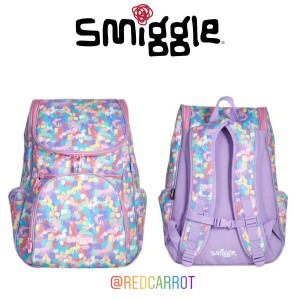 Harga new arrival smiggle access backpack chest strap tas anak | HARGALOKA.COM