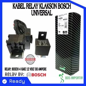 Info 1 Set Klakson Keong Relay Set Original Denso 12v Motor Mobil Katalog.or.id