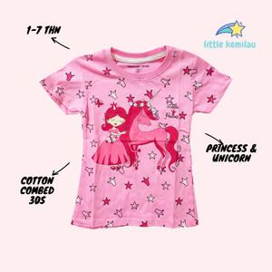 Harga premium baju kaos atasan anak bayi balita motif unicorn fullprint     HARGALOKA.COM
