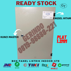 Harga box panel listrik indoor 50x40x20cm 50 x 40 x 20 cm 1 | HARGALOKA.COM