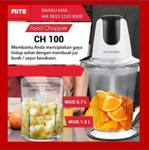 Harga food chopper mitochiba ch 100   | HARGALOKA.COM