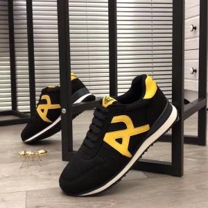 Harga sepatu sneakers keren armani branded import murah kualitas mirror 1 | HARGALOKA.COM