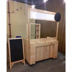 Harga booth kayu murah gerobak kayu murah serba | HARGALOKA.COM