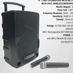Harga speaker portable meting wireless hardwell original 10 | HARGALOKA.COM
