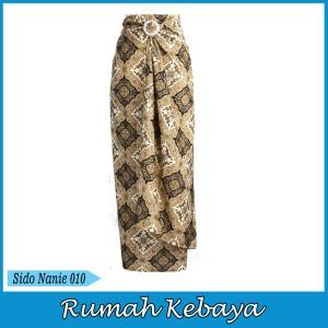 Harga rok batik bawahan lilit halus royal print serut sido nanie 010   | HARGALOKA.COM