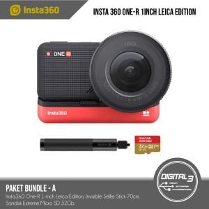 Harga insta360 one r 1 inch leica edition camera insta 360 oner 1 inch kamer   bundle | HARGALOKA.COM
