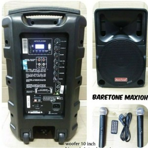 Harga speakear portable baretone mitiing wirreles 10inch max10h | HARGALOKA.COM