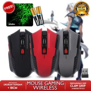Harga mouse wireless gaming 2 4ghz murah mirip fantech windows mac android   manta   HARGALOKA.COM
