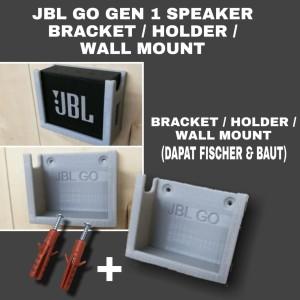 Harga jbl go gen 1 bluetooth speaker bracket holder casing wall mount   hitam gen | HARGALOKA.COM
