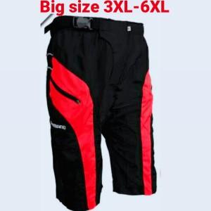 Harga celana sepede big size model trompet   hitam | HARGALOKA.COM
