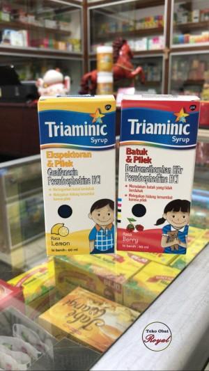 Harga obat batuk pilek triaminic     HARGALOKA.COM