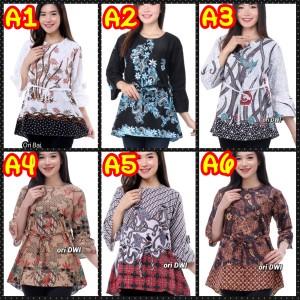 Harga atasan blouse wanita seragam | HARGALOKA.COM