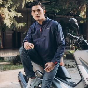 Harga skyline jaket motor pria rapid anti angin   hitam | HARGALOKA.COM