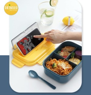 Harga tempat kotak bekal makan lunchbox orinoco 0225   | HARGALOKA.COM