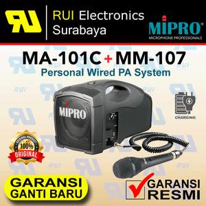 Harga speaker portable bundle microphone wired mipro ma 101c | HARGALOKA.COM