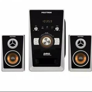 Harga multimedia speaker polytron pma 9501 bluetooth fm subwoffer | HARGALOKA.COM