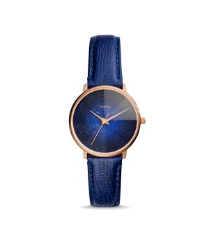 Harga jam tangan wanita fossil prismatic galaxy blue leather strap | HARGALOKA.COM