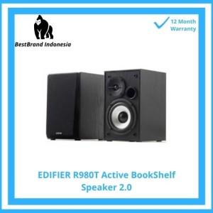 Harga edifier r980t 4 34 active bookshelf speakers   2 0 computer | HARGALOKA.COM