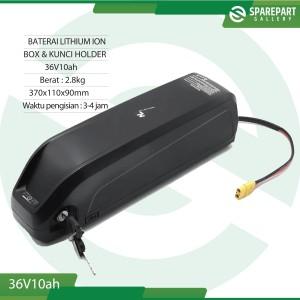 Harga aki baterai lithium ion 36v10ah sepeda | HARGALOKA.COM
