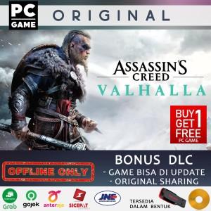 Harga assassins creed valhalla pc original sharing offline only   dvd | HARGALOKA.COM