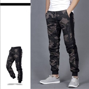 Harga celana joger pria celana jogger pria army celana pria list hitam   loreng coklat | HARGALOKA.COM