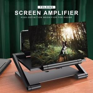 Harga 3d folding phone screen projector amplifier pembesar layar hp phone 3d   tanpa   HARGALOKA.COM