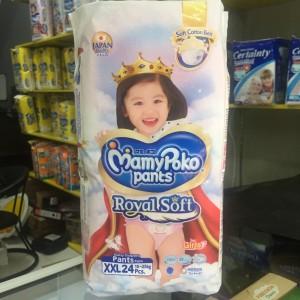 Harga popok mamy poko pants royal soft xxl24   HARGALOKA.COM