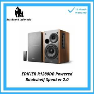 Harga edifier r1280db powered bluetooth bookshelf speakers brown coklat  2 | HARGALOKA.COM