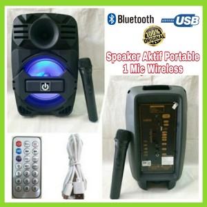 Harga speaker aktif portable wireless 8 inch crimson crx859 bisa di | HARGALOKA.COM
