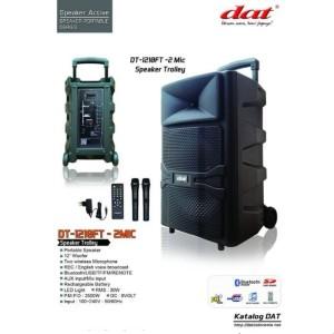 Harga murah speaker aktif 12 inch portable dat dt 1210ft 12 | HARGALOKA.COM