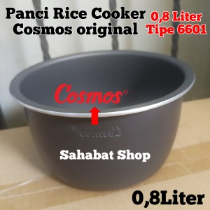 Harga panci rice cooker magic com cosmos original 0 8 liter 6601 | HARGALOKA.COM