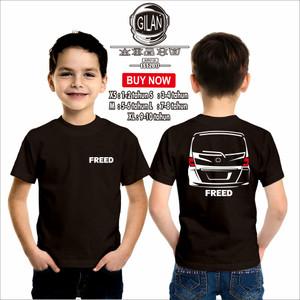 Harga kaos baju anak mobil honda freed rear kaos anak otomotif   gilan   | HARGALOKA.COM