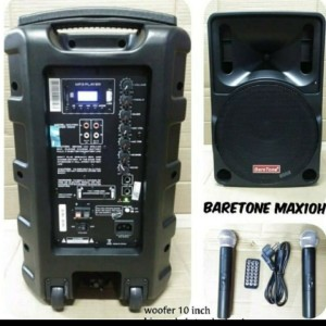 Harga speaker portable bareton mitting wereless 10 34 max10c | HARGALOKA.COM
